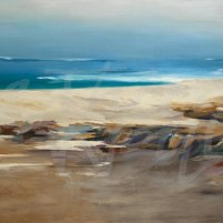 transitional seascape, ocean, sea, beach, Liz Jardine, seattle art