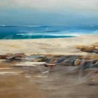 transitional seascape, ocean, sea, beach, Liz Jardine, seattle art