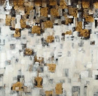 abstract, contemporary, metallics, gold, bronze, seattle art, liz jardine