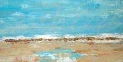 transitional abstract coastal blue beach ocean sea summer seattle art