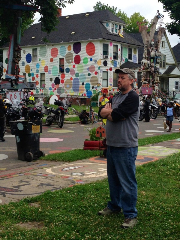 Thomas LaDuke, a lifelong resident of the area, gives his assessment of the Heidelberg Project.