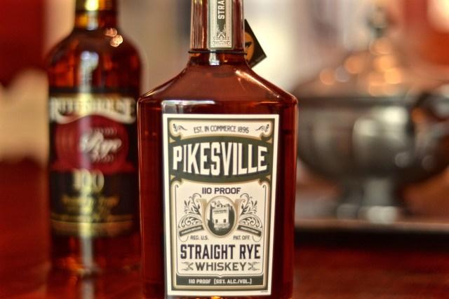 Pikesville Rye Rittenhouse Rye Whiskey