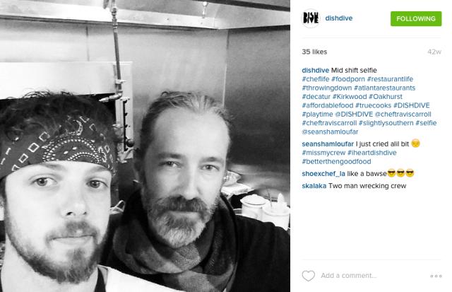 Dish Dive's Instagram