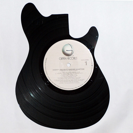 art made of vinyl records (4)
