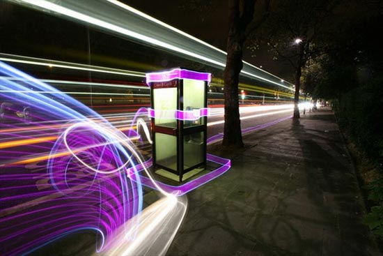 light-paint-phone-booth