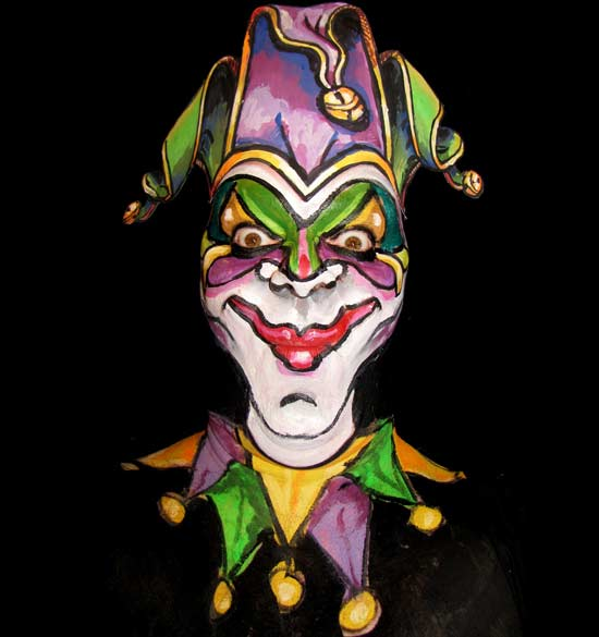 jocker-facepaint