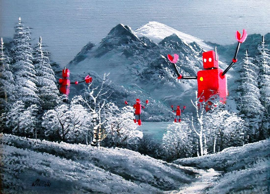 winter-woods-paintings
