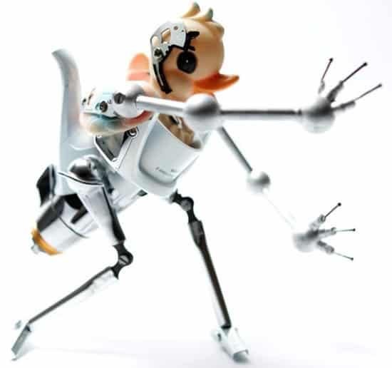 robotic-art-rubber-duck