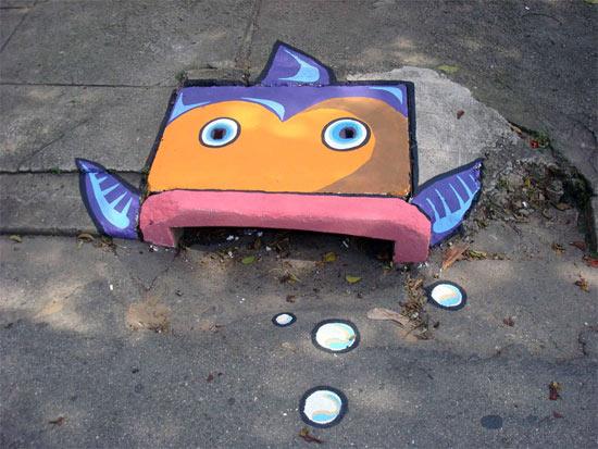 street-art-fishy
