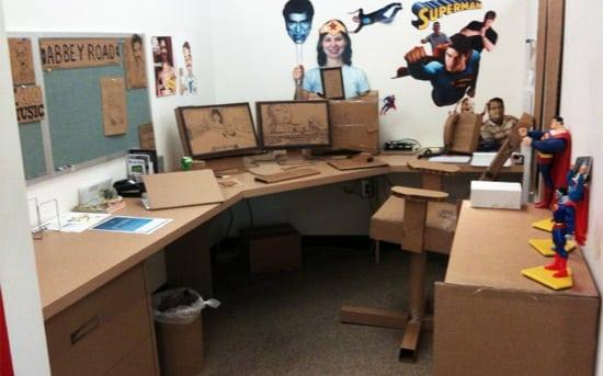 cardboard-office