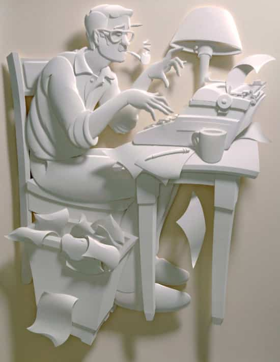 paper-art-man-on-desk