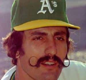 It's sad that Rollie Fingers didn't play for either team then, he would have made the perfect Bill Cutting.
