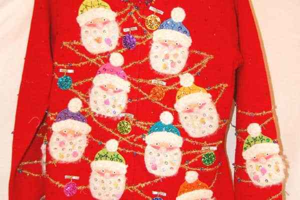 They are remarkably similar to Christmas sweaters in this aspect.
