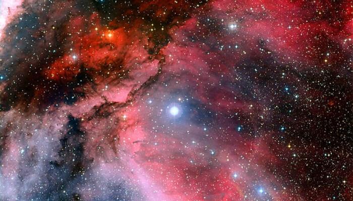 The Orion Nebula.