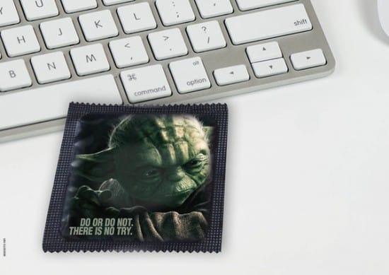 Yoda Condom Design