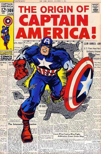 Captain America, Movies with Anachronisms