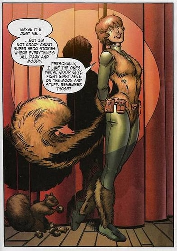 Bad Times in Comics:  Weird Superheroes and Villains and Squirrel Girl