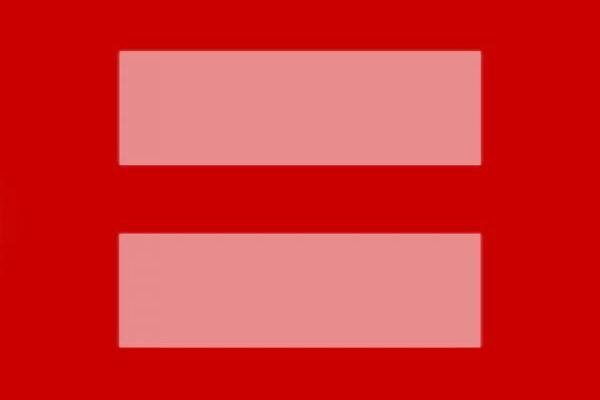 Versions of the Equal Rights Symbol on Facebook and Real Red Equal Sign