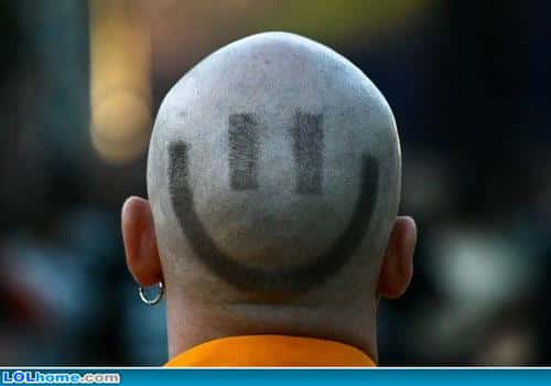 Weirdest Haircuts and The Smiley Face Haircut
