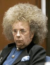 Phil Spector's Weird Hair
