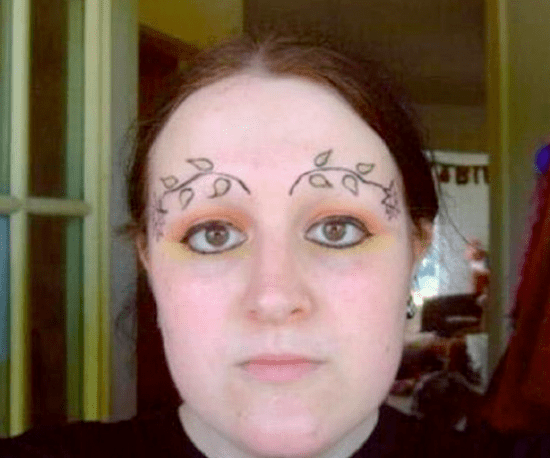 Bad Eyebrows