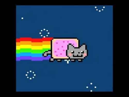 nyan cat famous internet cats