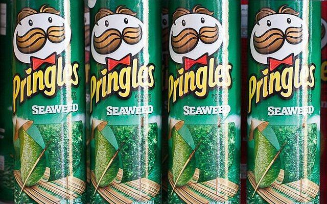 seaweed pringles?