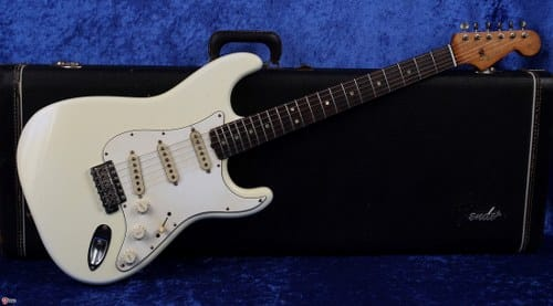 1965 fender composite stratocaster most expensive guitars