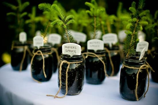 Wedding Decoration Ideas mason jars
