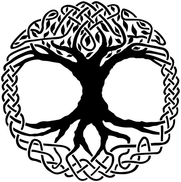 Gallery For gt Celtic Tree Of Life Art Symbol With Sun And