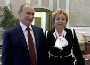 Vladimir Putin, Lyudmila Putin