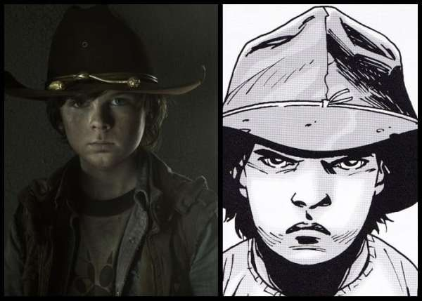 Could Carl Grimes be worse than Joffrey?