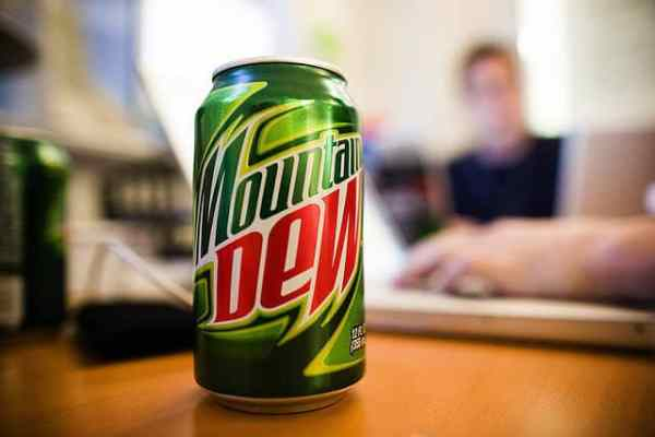 One of the top 10 unexpected items banned from import is the Mountain Dew drink.
