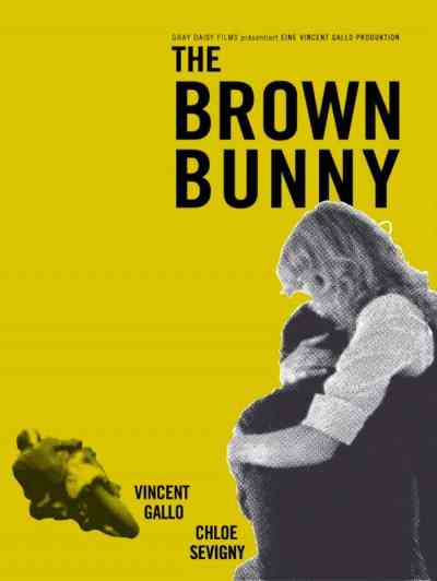 The top movies that should have never been released also features The Brown Bunny.