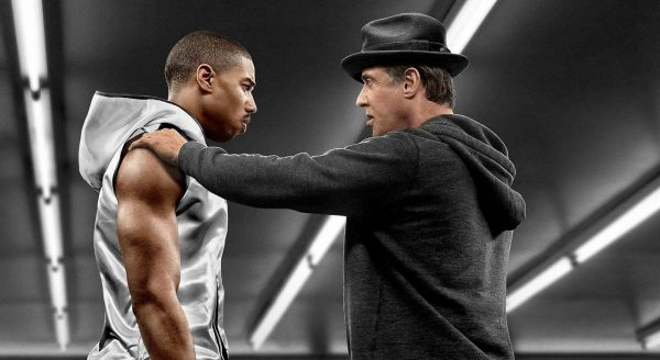Only Sylvester Stallone received recognition for Creed.