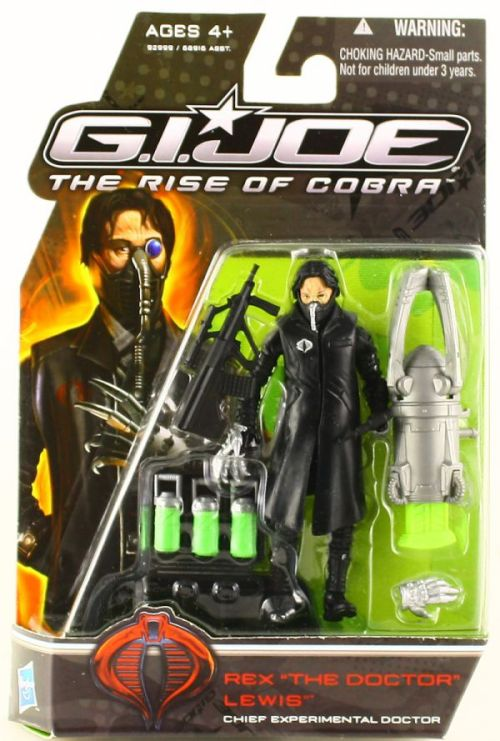 G.I. Joe: The Rise of Cobra is among the movie plots spoiled by their merchandise.