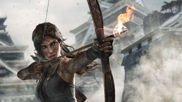 Tomb Raider was one of the first games to have a female protagonist.