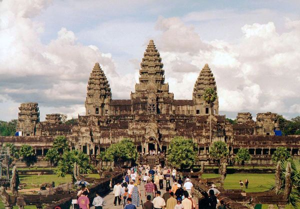 Angkor Wat Is Considered One Of The Most Beautiful Temples In Asia