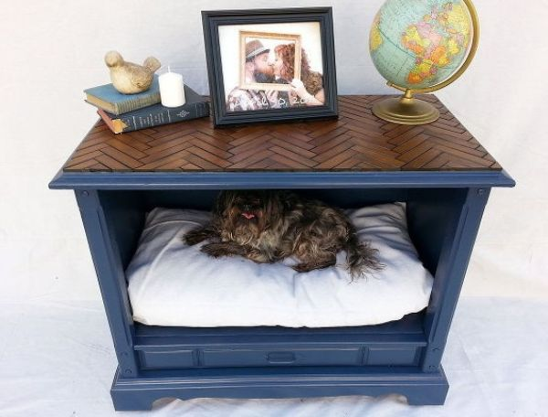 Drawer Bed - Amazing Hacks For Every Dog Owner