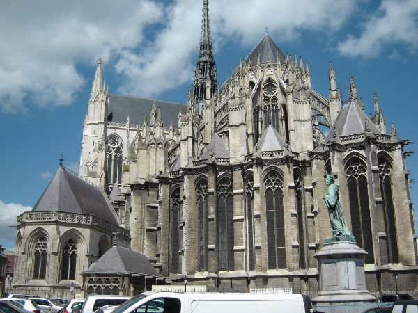 Breathtaking Gothic Cathedrals - Amiens Cathedral