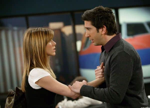 Ross and Rachel - Make-Up