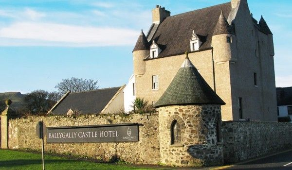 Ballygally - Most Haunted Castles In The World