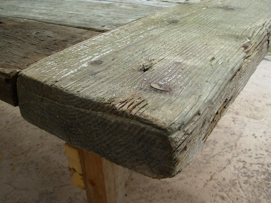 table end planks