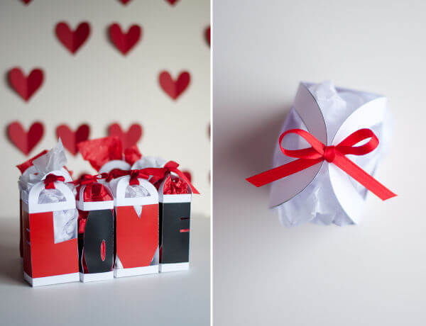 Perfect gift with design mom love valentine gift bag for Perfect valentine gift for her