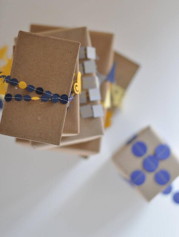 Sewn Paper Ribbon 3