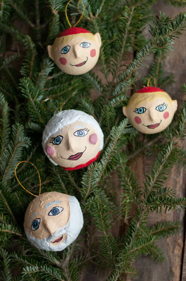 Holiday Ornaments with Design Mom | this heart of mine