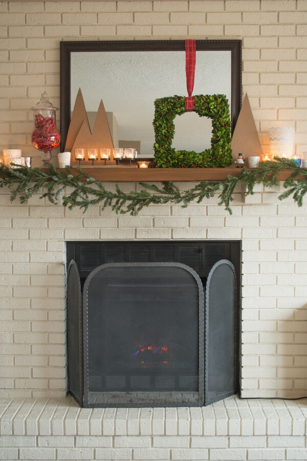 The Easiest Real Evergreen Garland Ever | this heart of mine