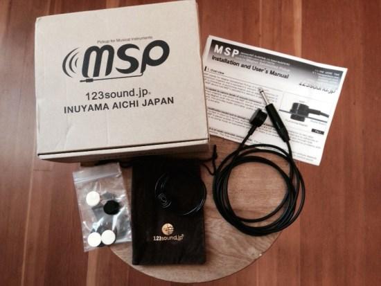 MSP Contact Mic