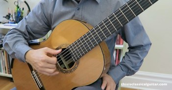 Right Hand Lesson for Guitar