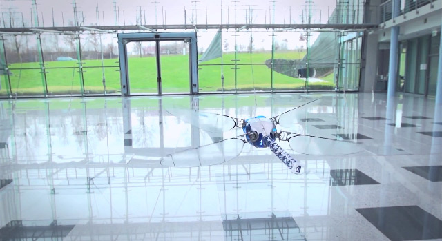 Robotic Dragonfly by Festo :: via This Is Colossal